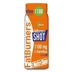 NUTRISPORT FATBURNERS SHOT 1 BOTELLA X 60ML