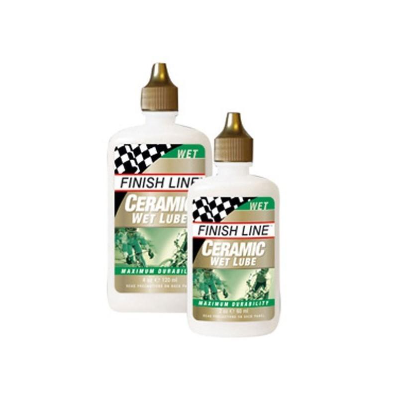 FINISH LINE lubricante CERÁMICA 2 OZ húmedo
