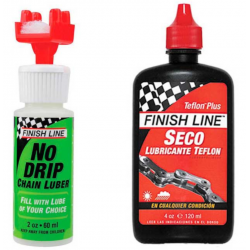 Finish Line Combo No Drip Cross Country Bote 4 Oz