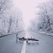 Cómo combatir el frío yendo en bicicleta