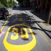 Foto: Periódico IDEAL | Nueva red bici en Granada